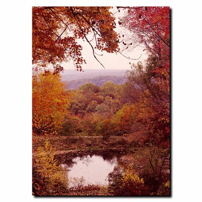 "Trademark Fine Art The Cuyahoga Valley by Kurt Shaffer, Canvas Art - 32"" x 24"""