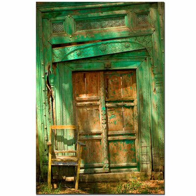 "Trademark Fine Art Temple Door by Aiana, Canvas Art - 24"" x 16"""