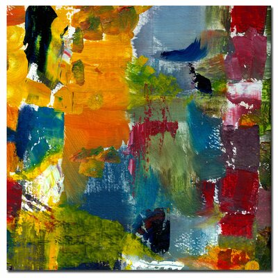 "Trademark Fine Art Color Relationships I by Michelle Calkins, Canvas Art - 24"" x 24"""