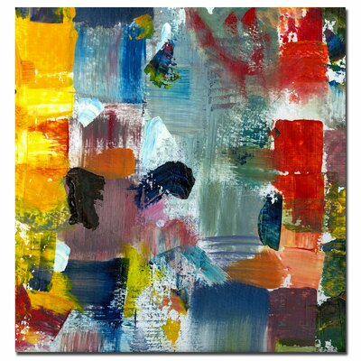 "Trademark Fine Art Color Relationships III by Michelle Calkins, Canvas Art - 24"" x 24"""