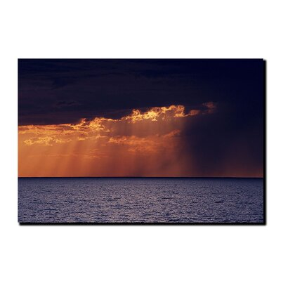 Trademark Fine Art Passing Storm by Kurt Shaffer Canvas Art
