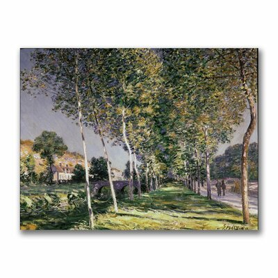 "Trademark Fine Art ""The Walk"" Canvas Art"
