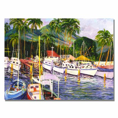 Trademark Fine Art 'Lahaina Maui' Canvas Art
