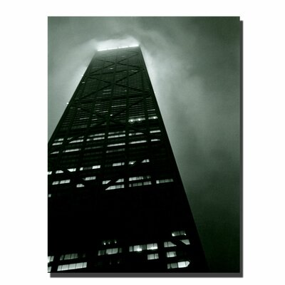 "Trademark Fine Art ""Hancock"" by Michelle Calkins Graphic Art on Canvas"