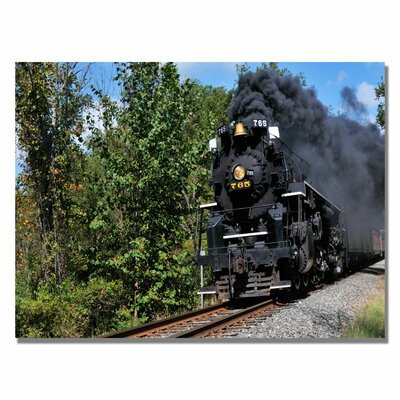 Trademark Fine Art 'Old Cuyahoga Valley Line' by Kurt Shaffer Photographic Print on Canvas