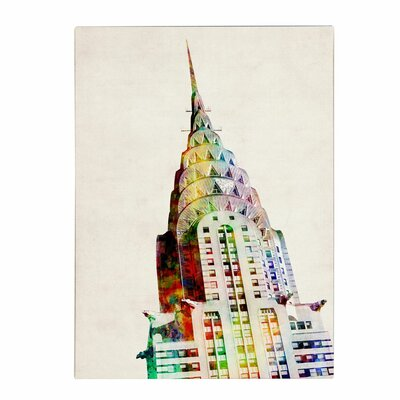 Trademark Fine Art 'Chrysler Building' Canvas Art