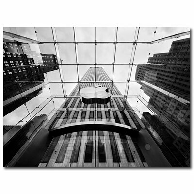 'NYC Big Apple' by Nina Papiorek Photographic Print on Canvas