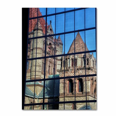 'Trinity Church Reflection' by CATeyes Photographic Print on Canvas
