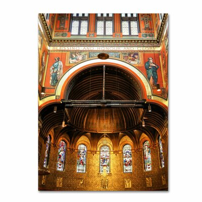 'Trinity Church' by CATeyes Photographic Print on Canvas
