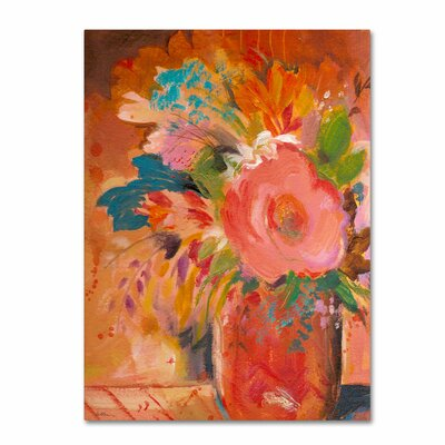 'Copper Vase 3' Canvas Art