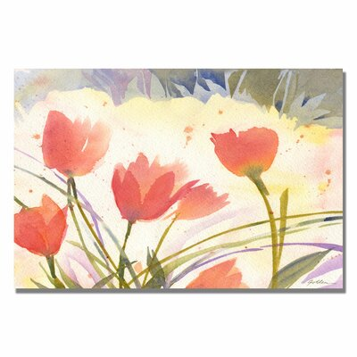 Trademark Fine Art 'Spring Song' Canvas Art