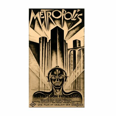 "Trademark Fine Art ""Metropolis"" Vintage Advertisement on Canvas"