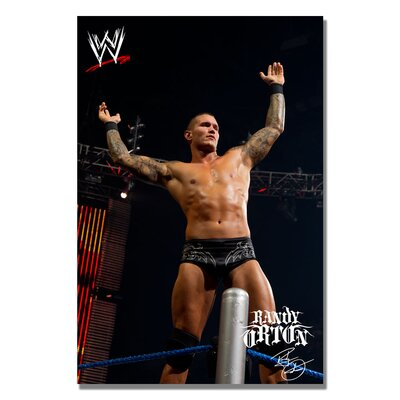 Trademark Fine Art 'WWE Randy Orton' Photographic Print on Canvas