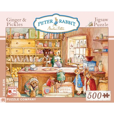 New York Puzzle Company Ginger and Pickles 500-Piece Puzzle
