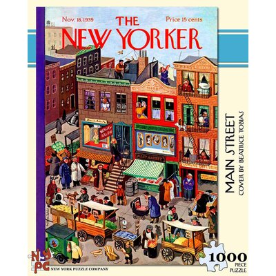 New York Puzzle Company Main Street 100-Piece Puzzle