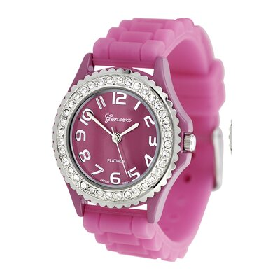 Women's Rhinestone Accented Watch