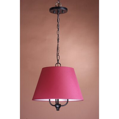 "Laura Ashley Home 10"" x 16"" Maylis Barrel Shade in Cherry"