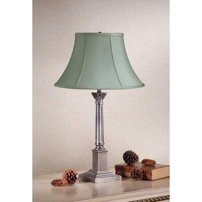 Laura Ashley Home Corinthian Table Lamp with Charlotte Bell Shade