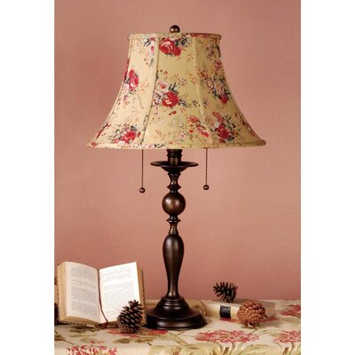 Laura Ashley Home Georgia Table Lamp with Angelica Shade