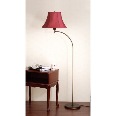 Laura Ashley Home Josephine Floor Lamp with Charlotte Bell Shade