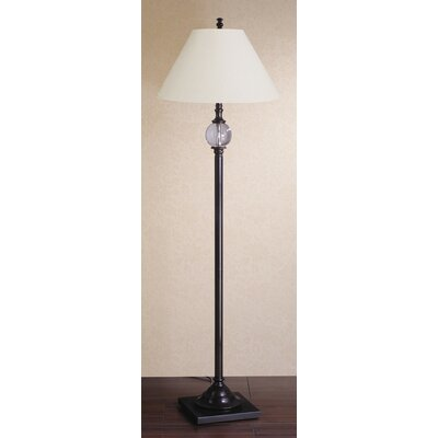 Laura Ashley Home Keats Floor Lamp with Calais Shade