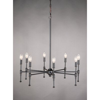 Laura Ashley Home State Street 8 Light Chandelier