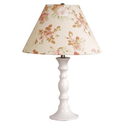 Laura Ashley Home Shelly Table Lamp with Stowe Shade