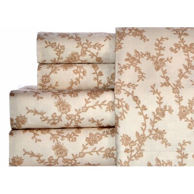 Laura Ashley Home Victoria 300 Thread Count Cotton Sheet Set