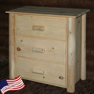 Frontier 3 Drawer Chest