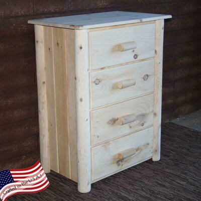 Lakeland Mills Frontier 4 Drawer Chest