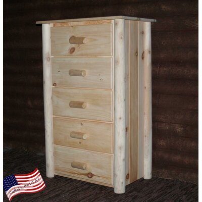 Frontier 5 Drawer Chest