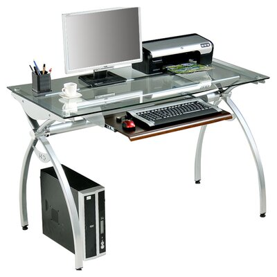 Techni mobili 30 x 44 computer desk with keyboard trey for 0039 mobili