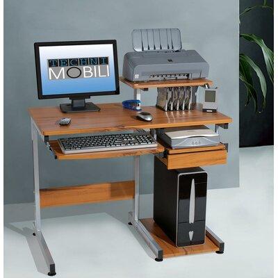 Techni mobili streamline compact computer desk reviews for Mobili computer