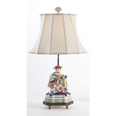 "Chelsea House Figure Man 24"" H Table Lamp with Empire Shade"
