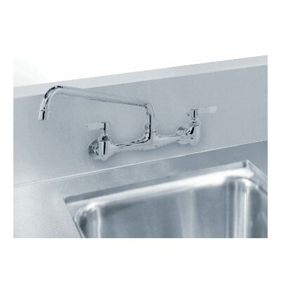 Advance Tabco Countertop Double Bowl Welded in Top Sink