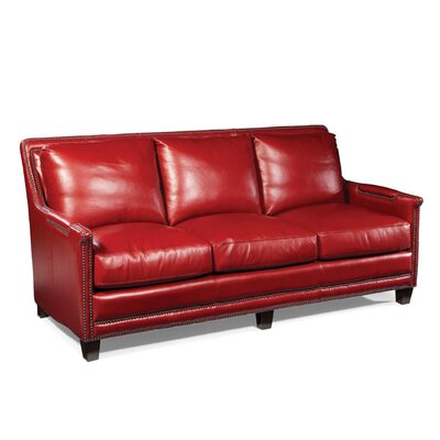 Prescott Leather Sofa Wayfair