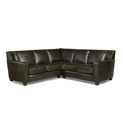 Marin Bi-Cast Leather Sectional