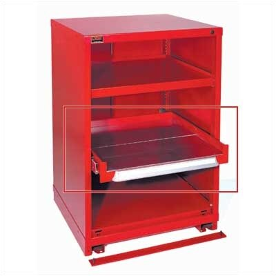 "Lyon Workspace Products Roll-Out Shelf Kit for Extra-Wide 45"" W Cabinet"