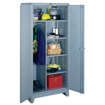 "Lyon Workspace Products All-Welded  Combination Cabinet: 78"" H x 36"" W x 24"" D"