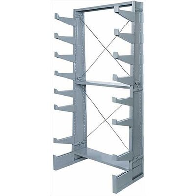 "Lyon Workspace Products Single Face Bar Rack Starter: 79 1/4"" H x 36"" W x 21 7/8"" D"