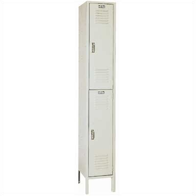 Lyon Workspace Products Double Tier Locker - 1 Section (Unassembled)