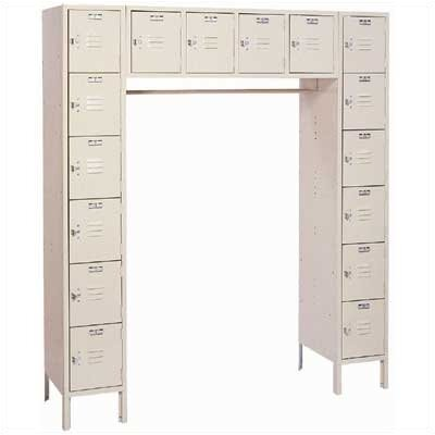 Lyon Workspace Products 16 Person LockeRack (Unassembled)