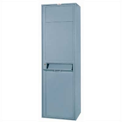 Lyon Workspace Products 2 Compartment Soiled Garment Locker - 1 Section (Assembled)