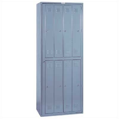 Lyon Workspace Products 8 Compartment ExchangeMaster Locker - 1 Section (Assembled)