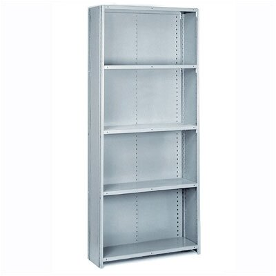 "Lyon Workspace Products 8000 Series: Closed Offset Angle Shelving (Medium-Duty): 84"" H x 36"" W x 12"" D"