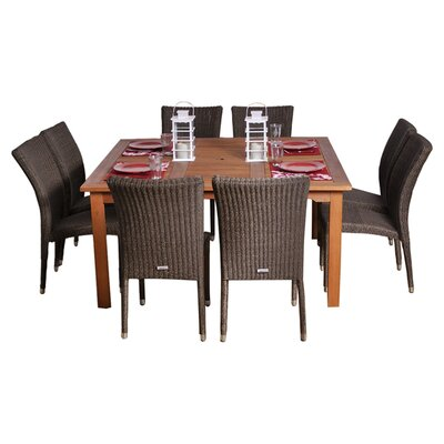 International Home Miami Provence 9 Piece Dining Set