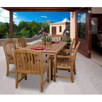 International Home Miami Amazonia Florence 7 Piece Dining Set