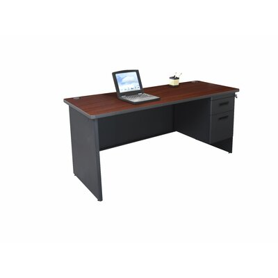 Marvel Office Furniture Pronto Single Pedestal Computer Desk