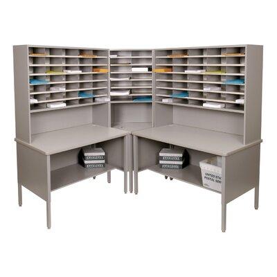 Marvel Office Furniture 84 Slot Corner Literature Organizer