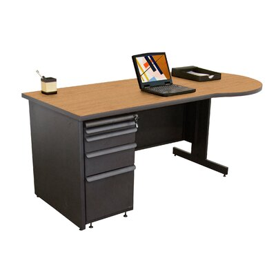 """Marvel Office Furniture Teachers 72"""" Conference Desk"""